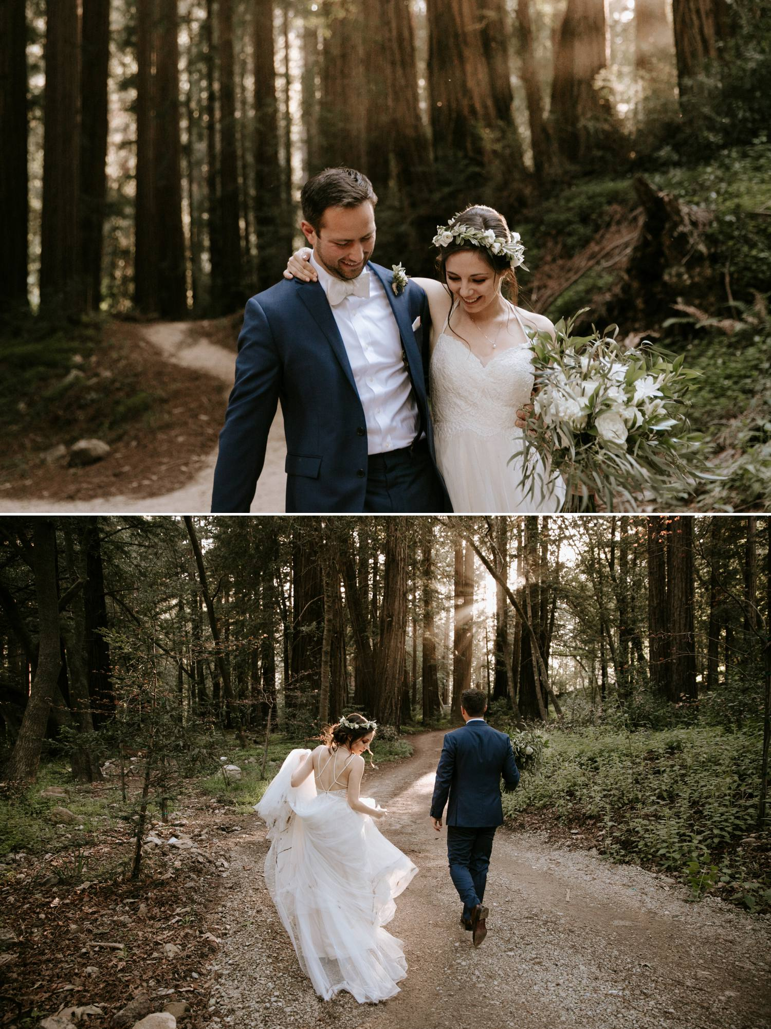 Big Sur elopement Glen Oaks