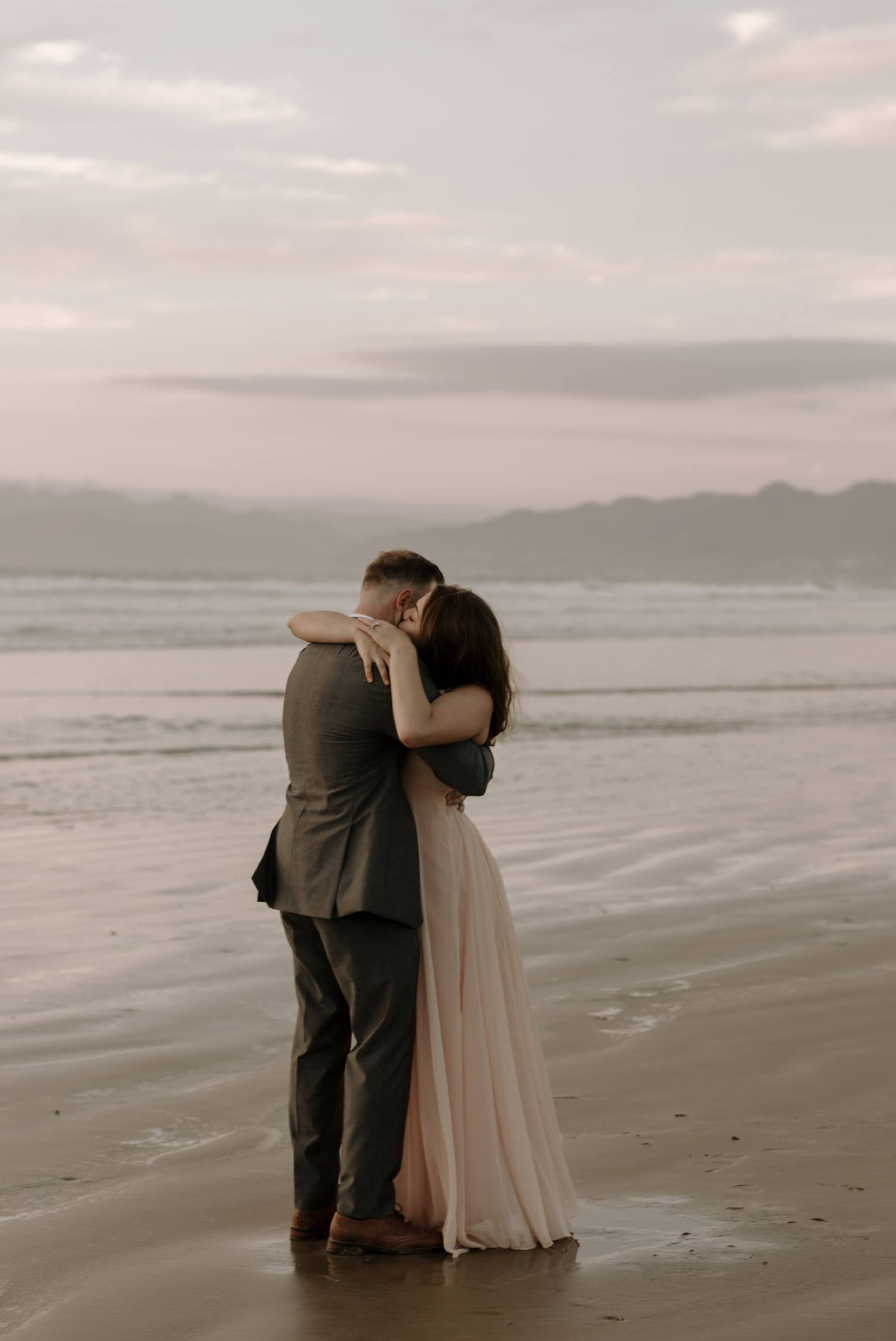 oceano beach engagement central coast