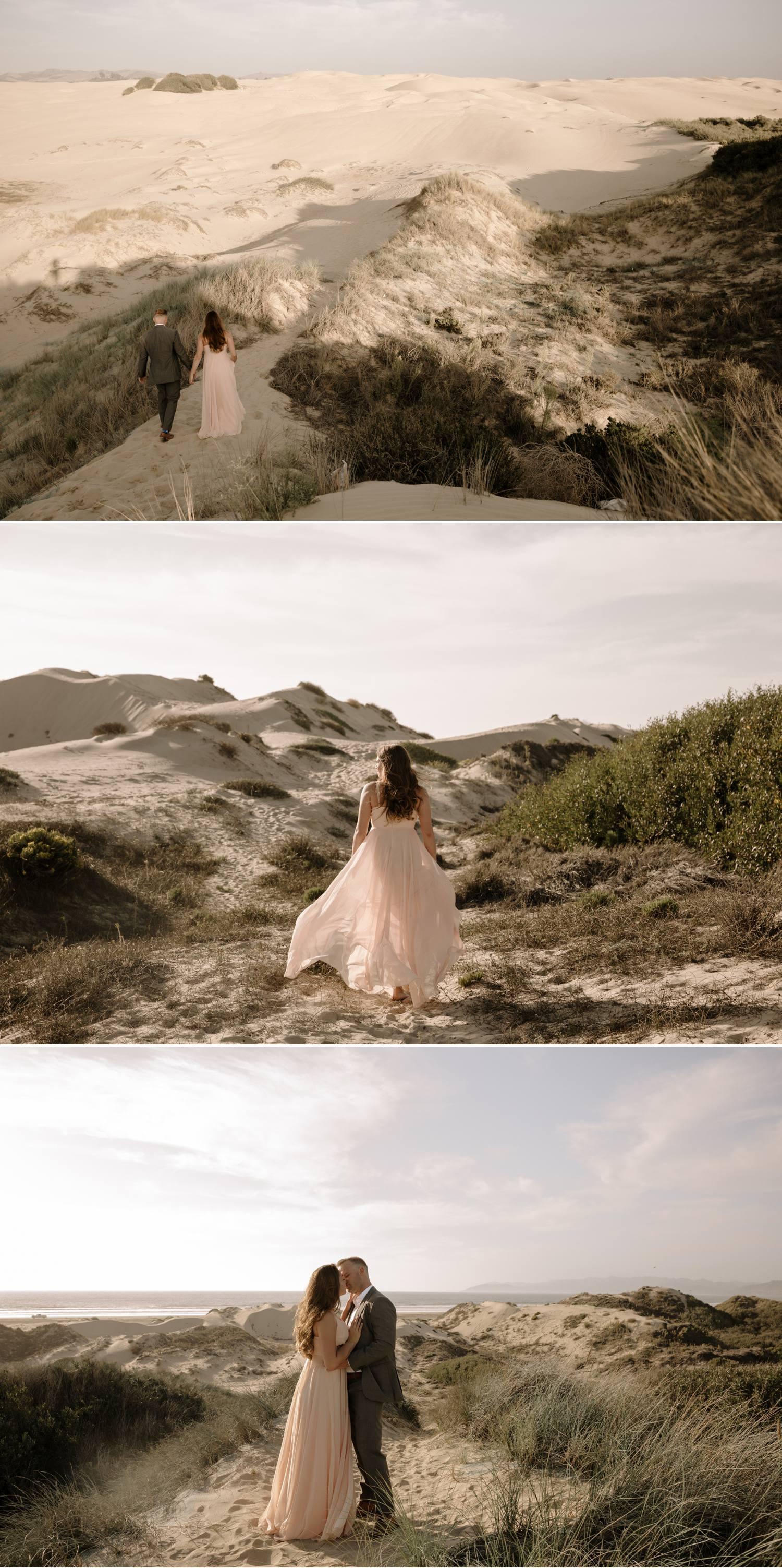 san dunes engagement autumn october
