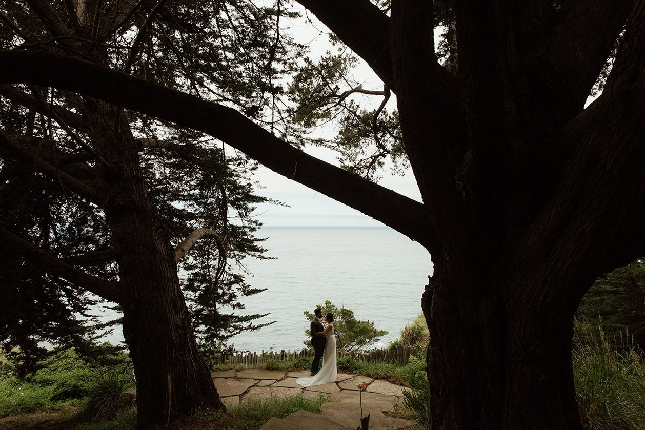 Wind & Sea Estate Wedding Big Sur