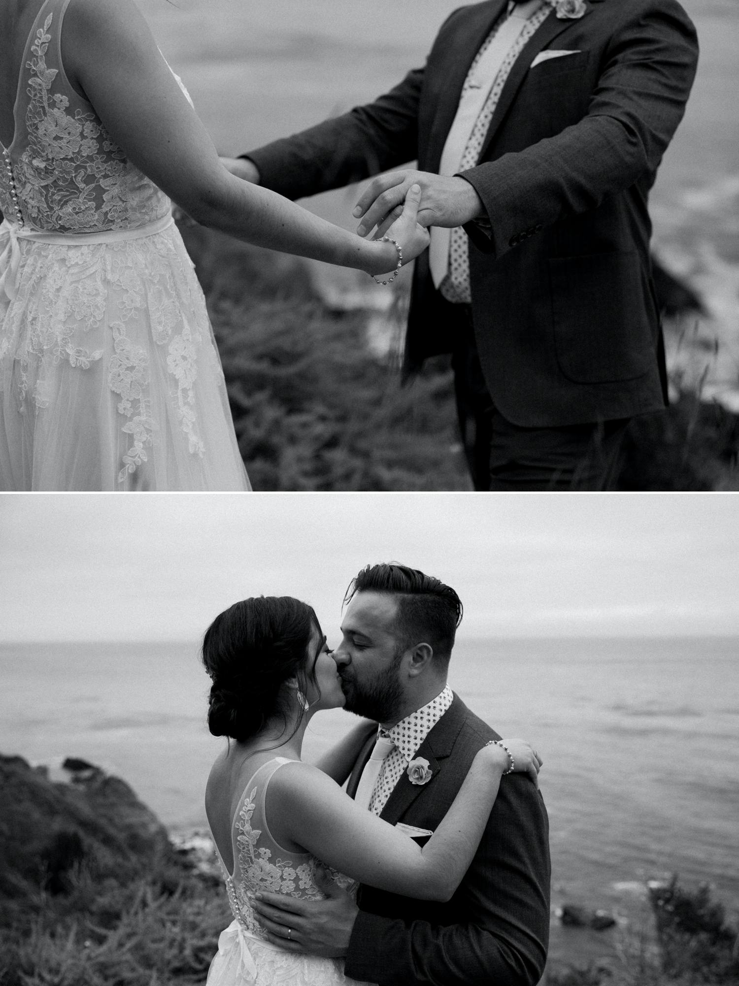 paige nelson big sur wedding