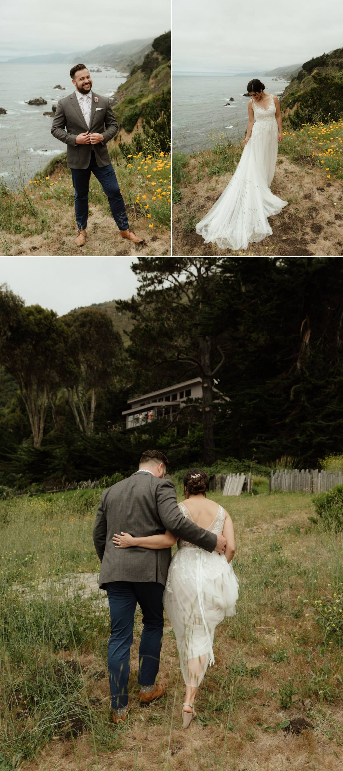 big sur intimate elopement limekiln