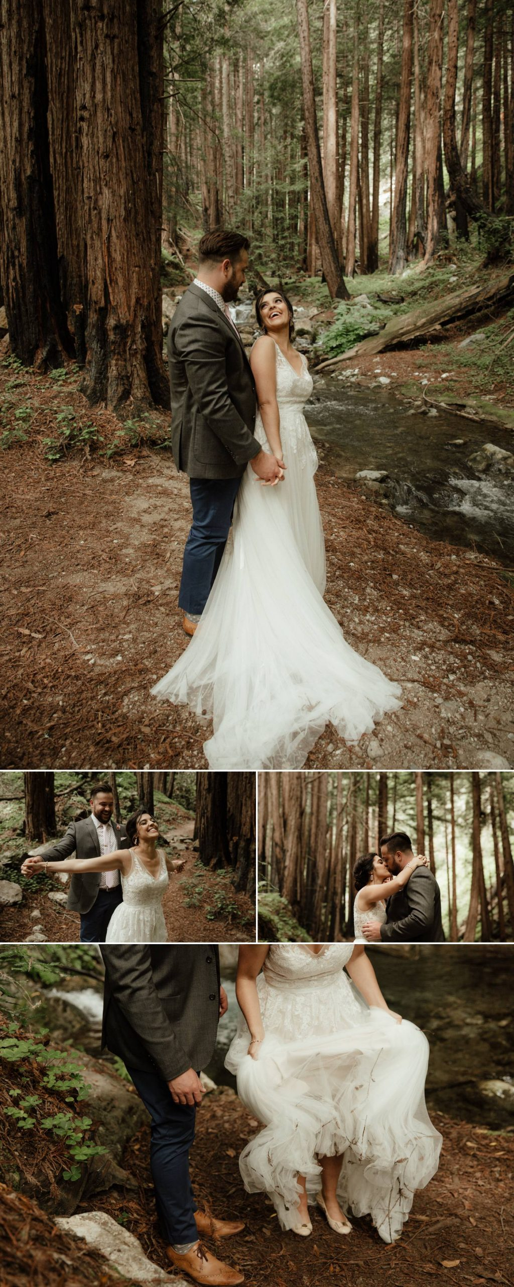 redwood forest big sur wedding