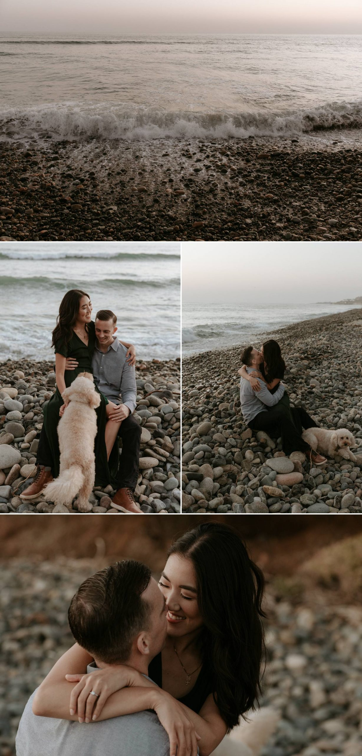 San Onofre Beach engagement