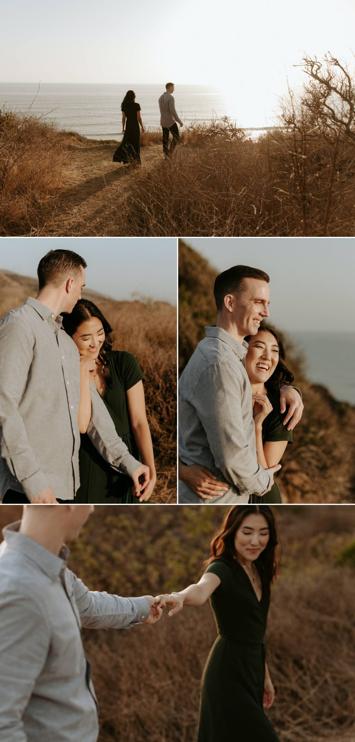 San Onofre Beach engagement photos
